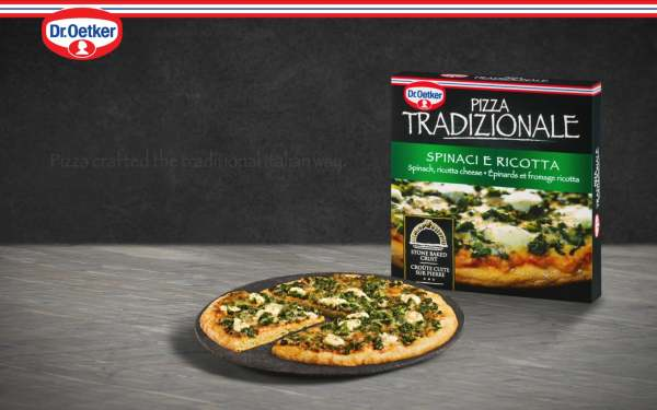 traditional pizza dr oetker spinach and ricotta