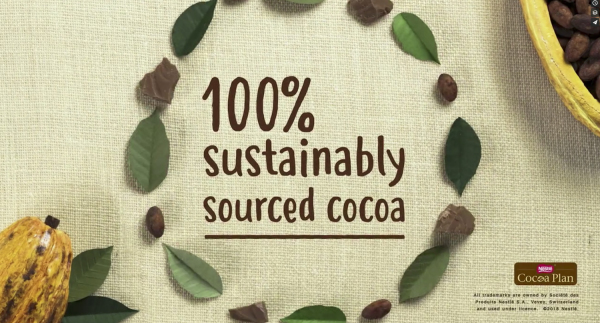 nestle chocolate bars gif cacao beans