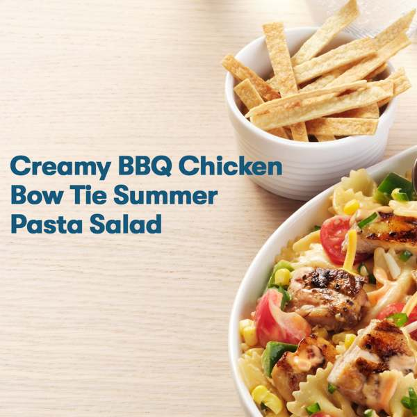 how to recipe video for summer grilling chicken and pasta salad
