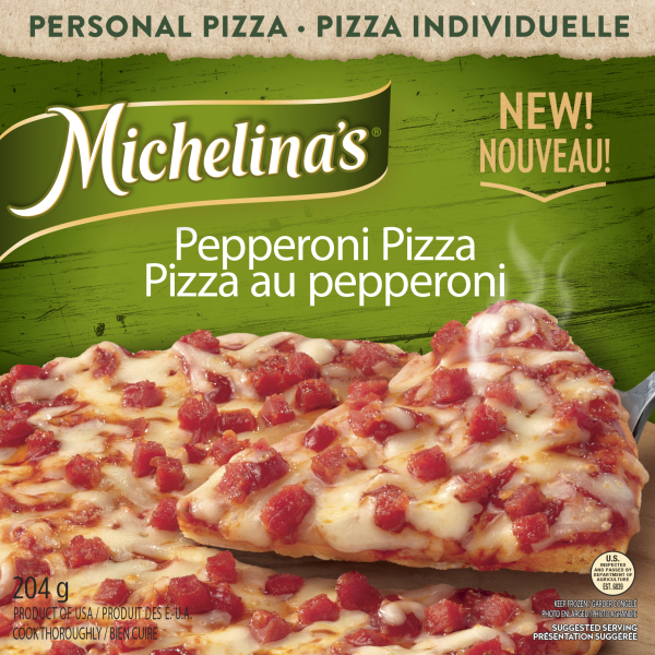 pepperoni pizza packaging photography